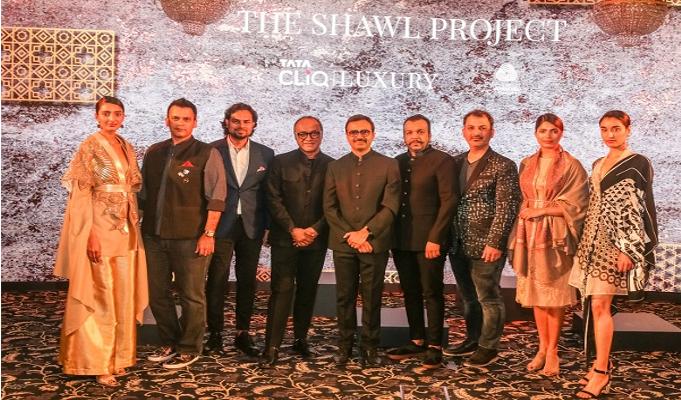 Tata CLiQ Luxury launches new Indi Luxe portfolio with The Shawl Project