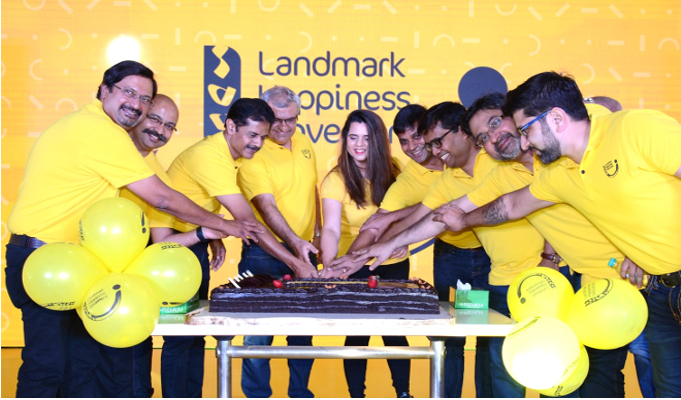 Landmark Group launches Happiness Movement in India