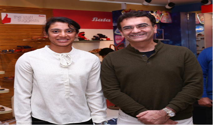 Bata announces Smriti Mandhana as the new brand ambassador for Power