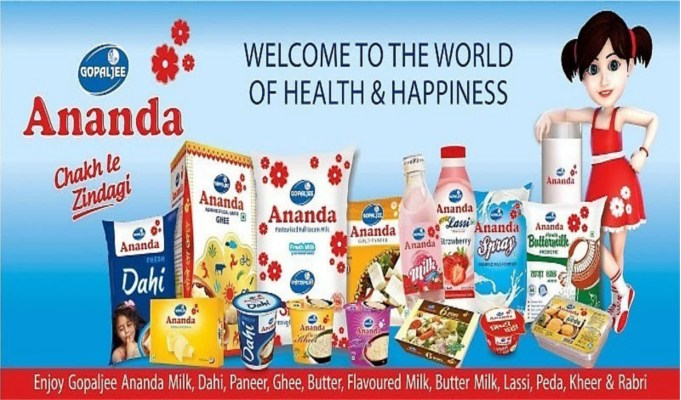 Ananda Dairy eyes 30 pc increase in turnover to Rs 2,000 crore in FY19