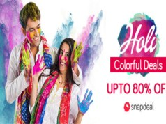 Snapdeal announces curated Holi Store
