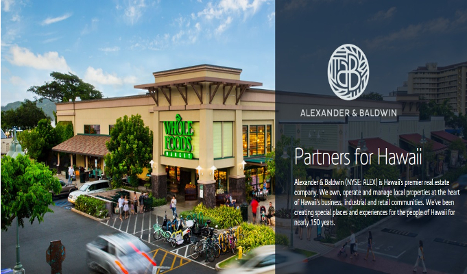 Alexander & Baldwin buys 3 shopping centers for US 4 million