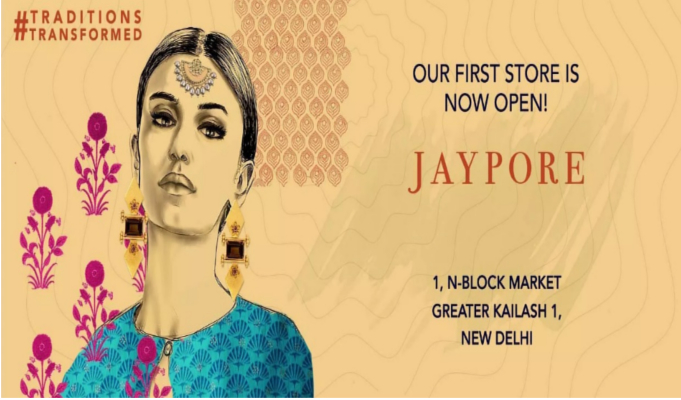 Jaypore opens first brick-and-mortar store