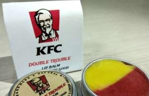 KFC India enters cosmetic range with flavoured lip balms