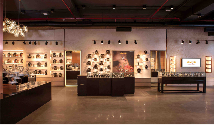 shazé enters the art capital of the country by opening its largest store in Delhi
