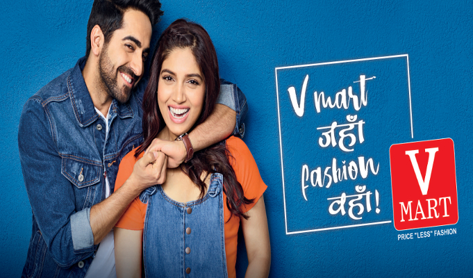 V-Mart signs Ayushmann Khurrana and Bhumi Pednekar as brand ambassadors
