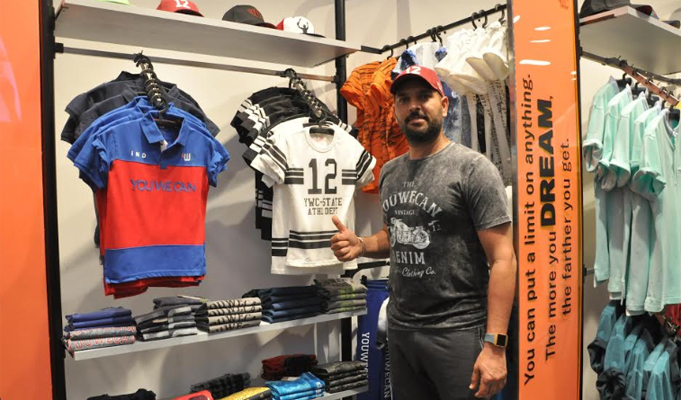 Yuvraj Singh's YWC's second standalone store launched in Chandigarh