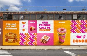 Dunkin' Donuts reveals new brand identity