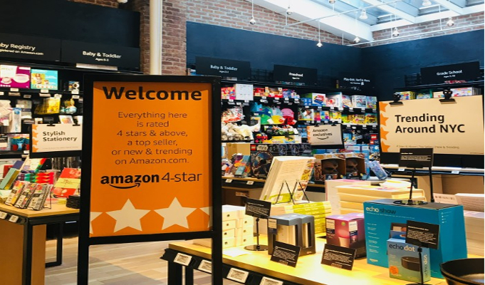 Amazon introduces new store selling items from its website rated 4 stars and above