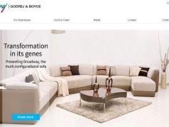 Godrej & Boyce eyes Rs 3.2 bn in sales from furniture brand Script by 2020