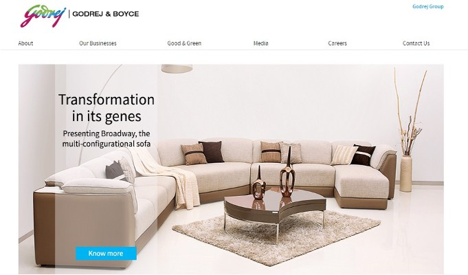 Godrej & Boyce eyes Rs 3.2 bn in sales from furniture brand Script by 2020