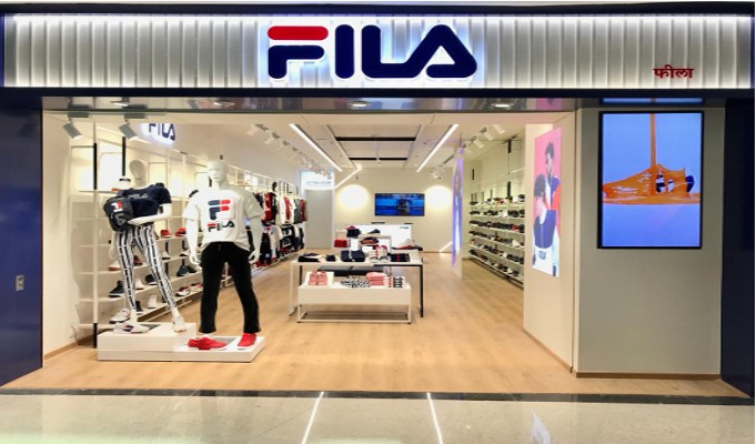 Fila bets big on the Indian market