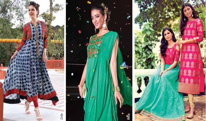 India's evolving women's ethnic wear market to grow to Rs 1,26,210 crore by 2019