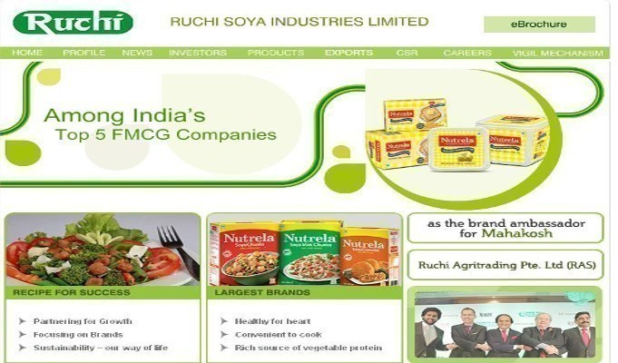 Ruchi Soya Q2 profit at Rs 16 crore