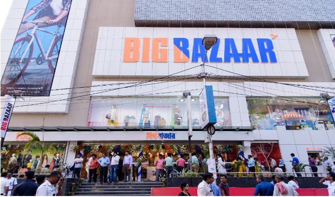How Big Bazaar has succeeded in winning customers in Kolkata