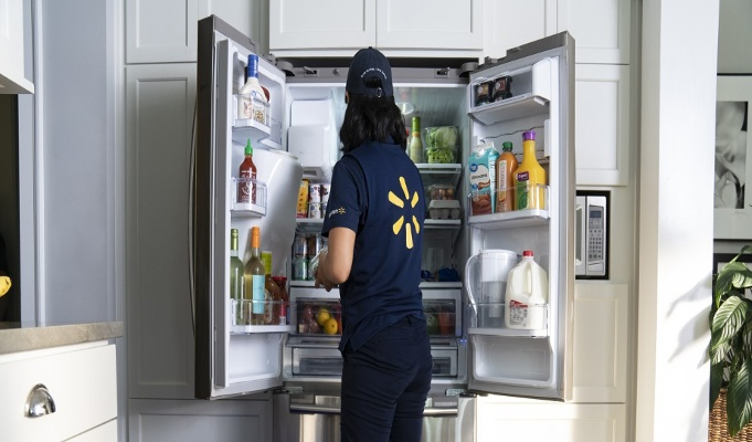 Walmart relaunches service to deliver groceries to customers' refrigerators