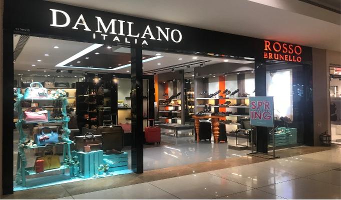 Da Milano paints a pantone VM story