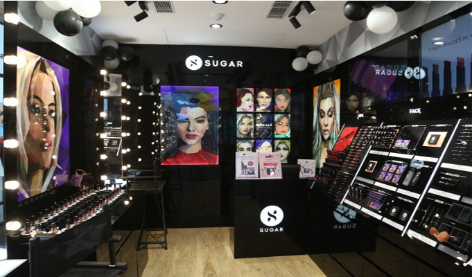 SUGAR Cosmetics opens first EBO in North India