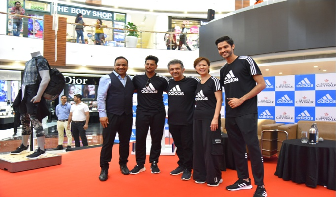 adidas India & Select CITYWALK join hands to drive awareness for reducing single-use plastic