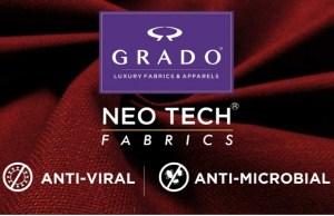 GRADO launches anti-viral fabrics with NEO TECH® technology