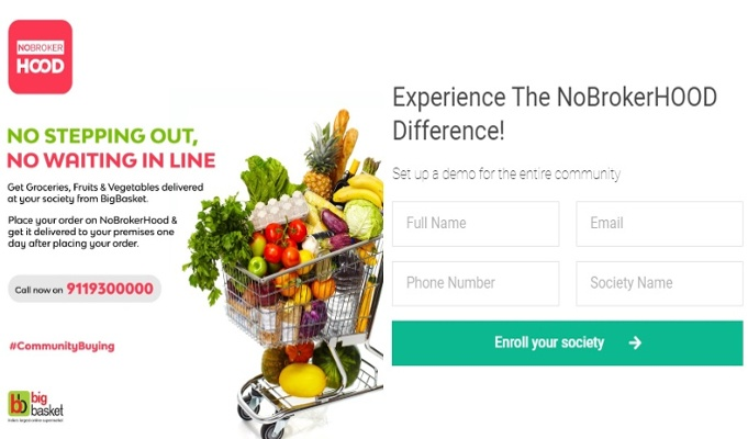 NoBrokerHood launches grocery store in to ease struggle during lockdown