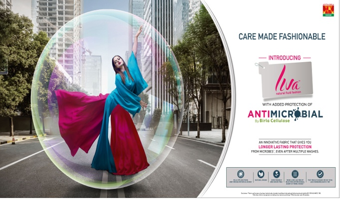 Birla Cellulose launches Liva with added protection of Antimicrobial fibres, making care fashionable