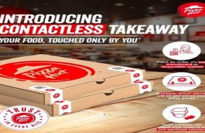 Pizza Hut strengthens its contactless service portfolio in Bangalore