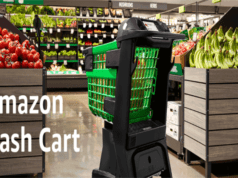 Amazon introduces smart shopping cart