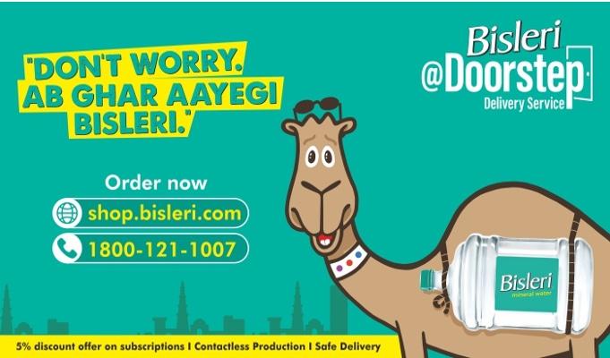 Bisleri launches Bisleri@Doorstep to cater to increased demand for essentials