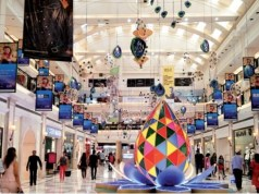 Preparing for a Pandemic Festive Season: Shopping centres begin décor adapted to new normal