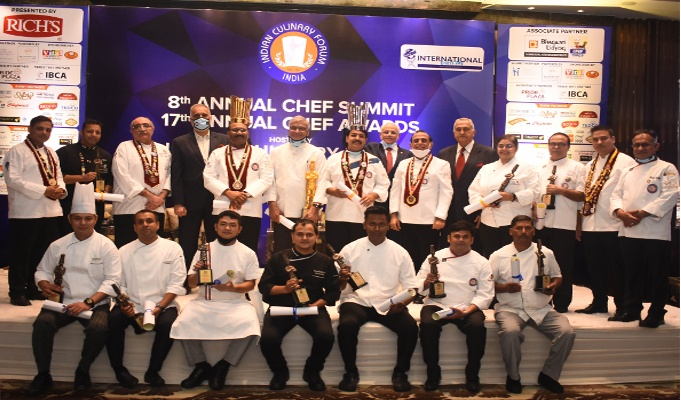 In these trying times, Indian Culinary Forum gives a fillip to the chef community with their Annual Chef Awards & Summit