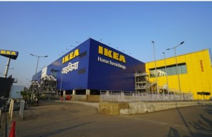 IKEA unveils Navigation Tower and Wordmark at Navi Mumbai store site