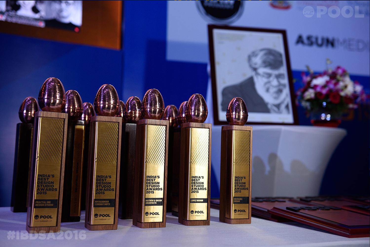 India's Best Design Studio Awards Trophies
