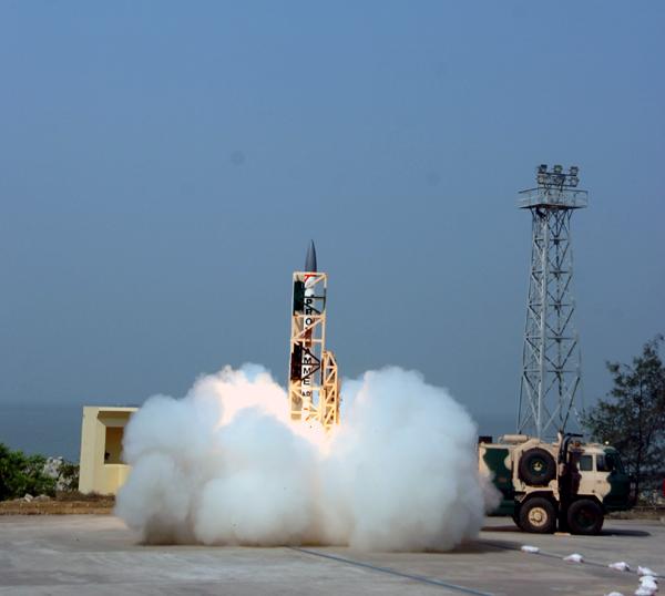 Supersonic interceptor AAD missile