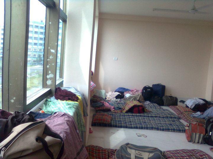 Inner view of NIT hostel rooms