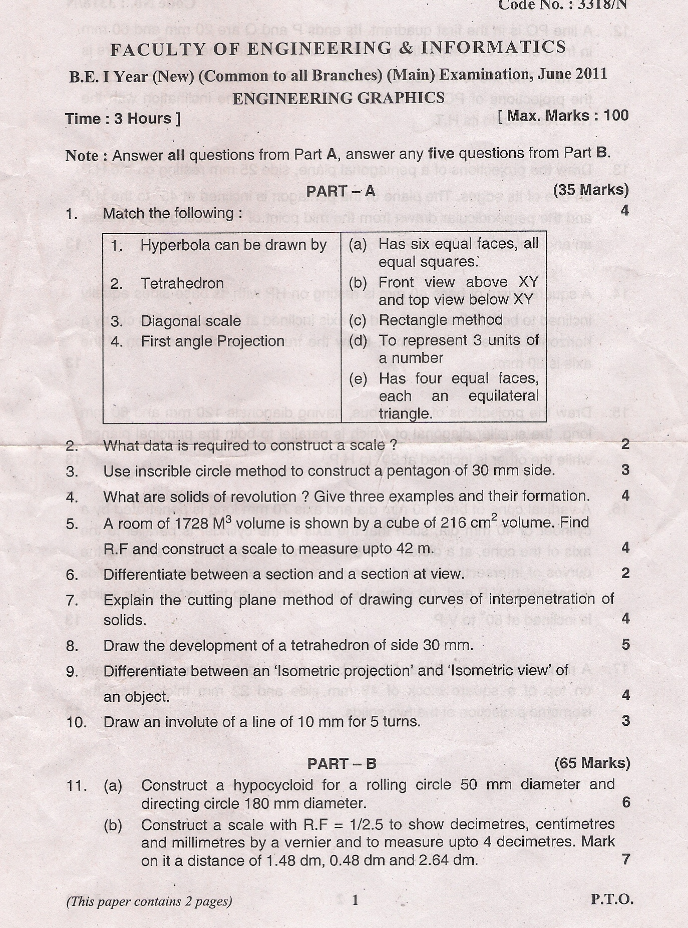 University Degree: Osmania University Degree Question Papers
