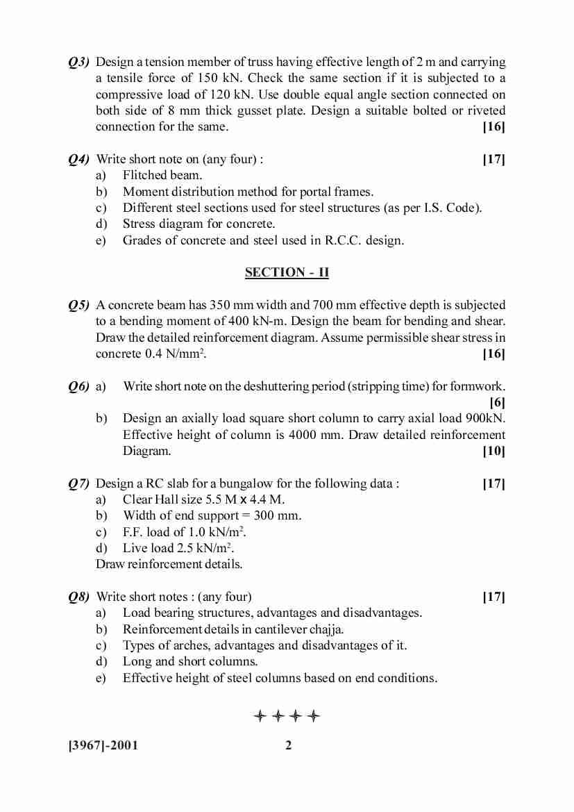 Interior Design Exam Questions Paper