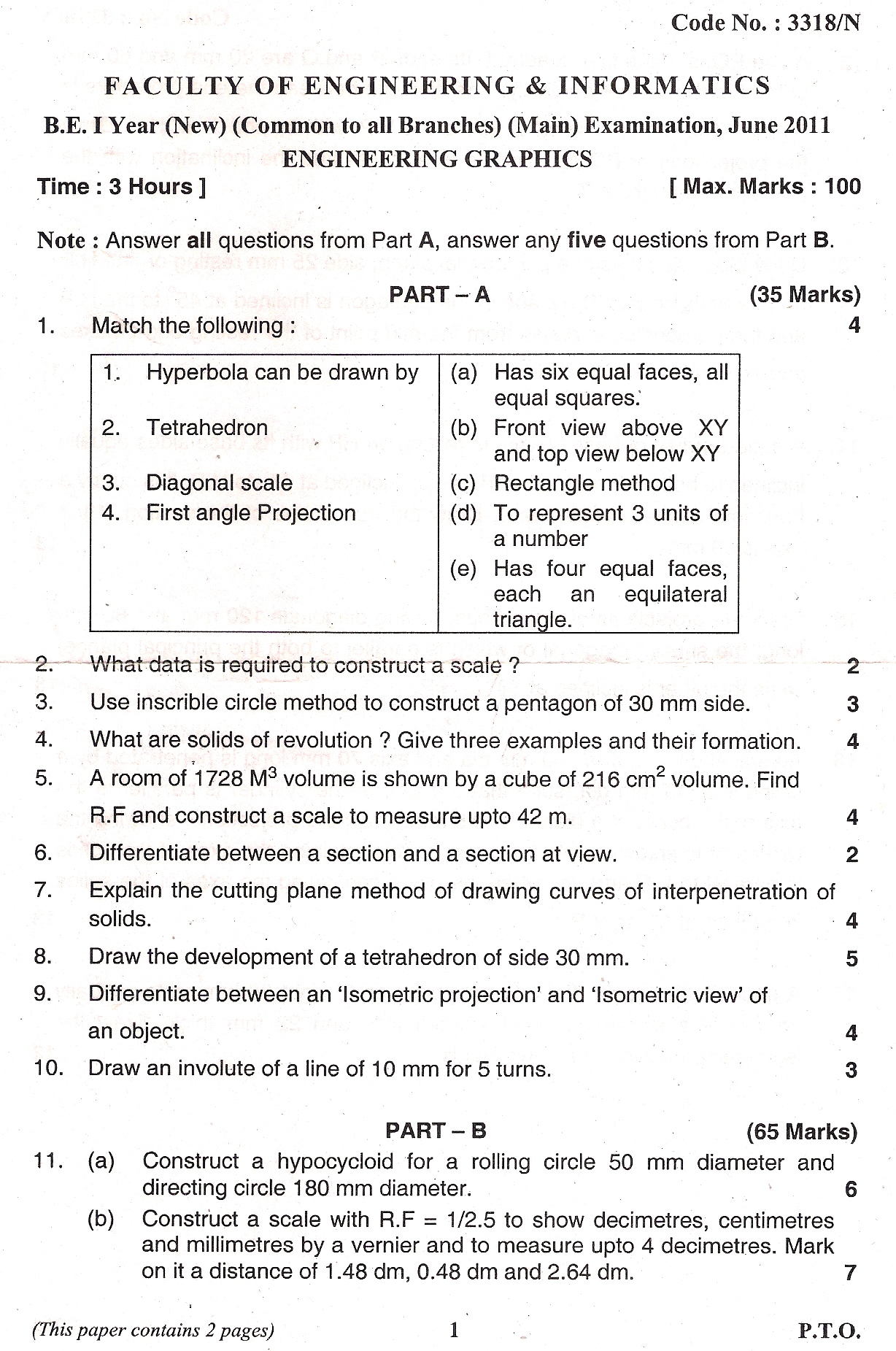 Previous Year Question Papers - Resume Examples | Resume