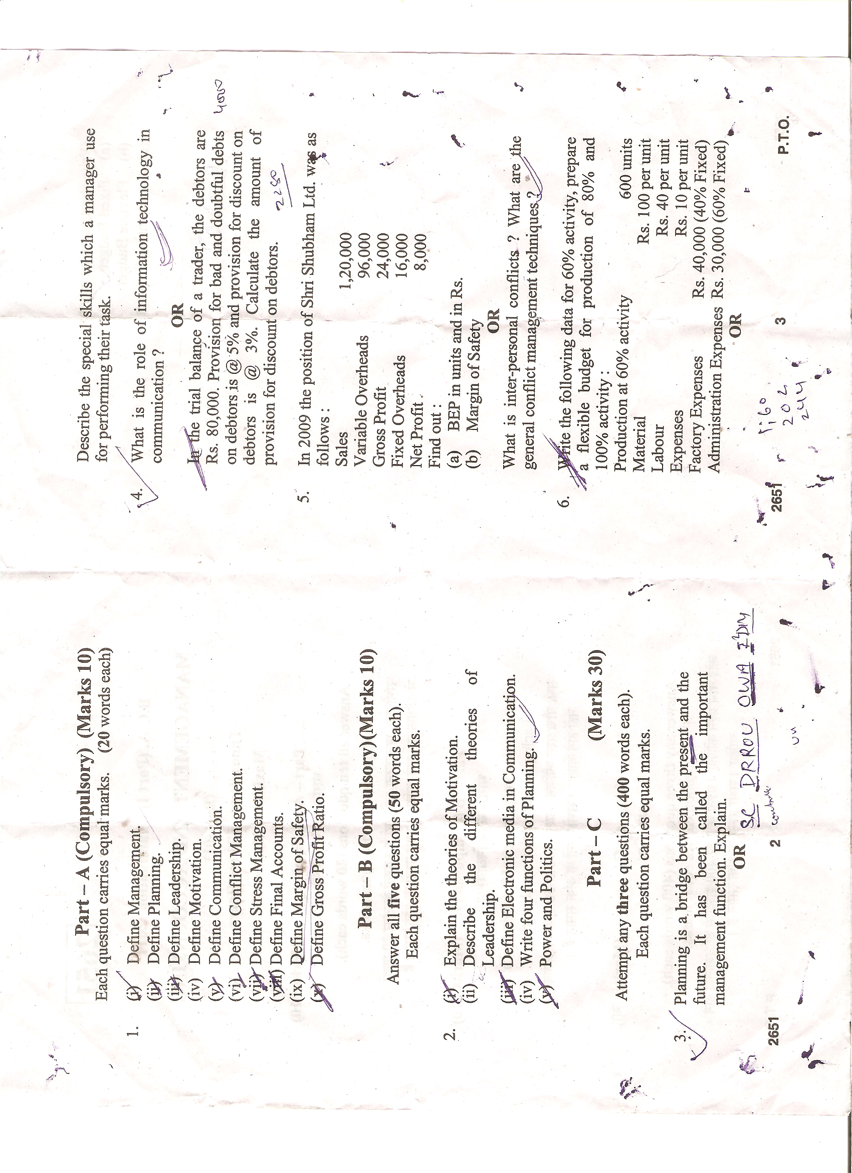 Maharshi Dayanand Saraswati University, Ajmer Management