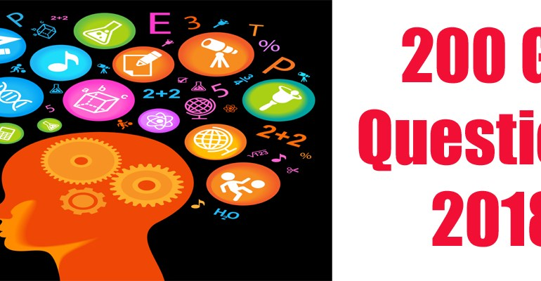 200 General Knowledge Important Questions Download in PDF File