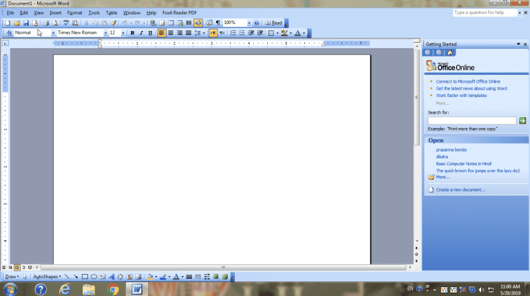 Replace Command Edit Menu Microsoft Word 2003 Tutorials Free