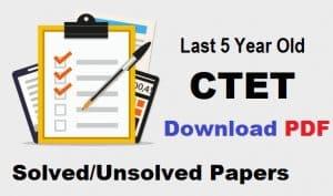 CTET Math Exam Paper 2019 Download Free PDF TGT PGT