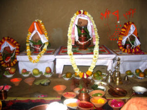 Puja at Navaratri