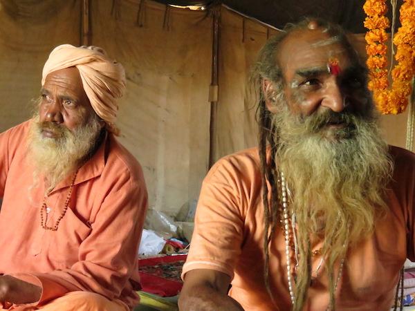 Swami Prayag Giri at Mahakumbha