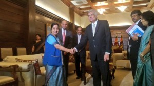 Swaraj Lanka visit