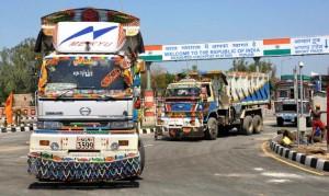 India-Pak trade routes