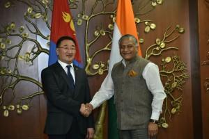 Mongolia FM visit