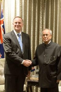 Pranab in NZ