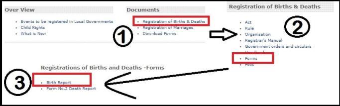 sevana birth certificate kerala