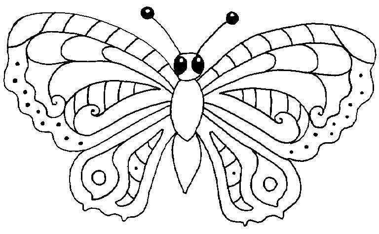 Índice de dibujos: mariposas